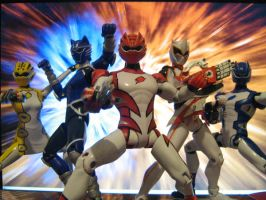 Super Gekiranger Toy Pic by kagami5566