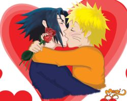 SasuNaru- Happy Valentines Day by Tigers13
