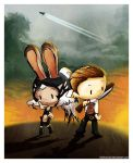 fran and balthier by Thiefoworld