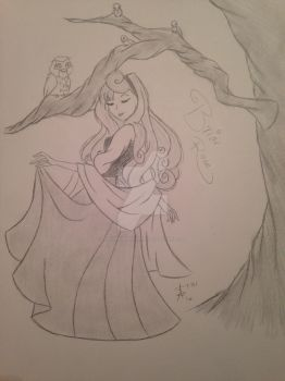 Briar Rose by MySapphireReverie