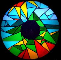 eye spy stained glass by essencestudios