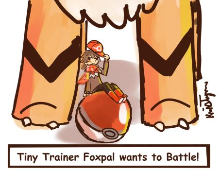 Tiny Trainer Battle by Friendlyfoxpal