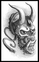 Chaos Hannya by Chaostouched