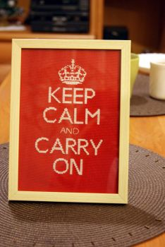 Keep Calm and Carry On by happy96