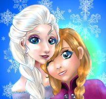 Frozen Christmas by Charlette-Cheshire