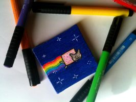 Nyan Cat by jojo-shakur