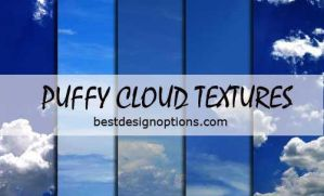 Puffy Cloud Textures by fiftyfivepixels