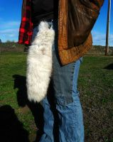 Arctic Fox tail - for sale, price reduced! by SPWilder