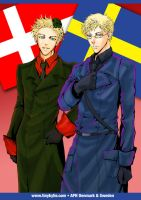 APH Denmark and Sweden by ladykylie