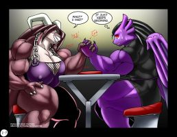 Oblivion vs Pachua 2 by DocWolph by PS286