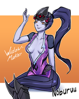Widowmaker by Noburuu