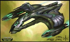 Star Trek Online D'deridex Concept Art by FBOMBheart