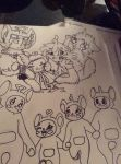 Teletubbies Awesomeness SKETCH(EARLY 2015) by ModernLisart