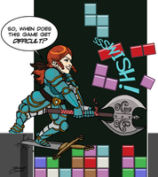 If The Rat Queens Played Video Games - 2 of 4 by mokkurkalfe