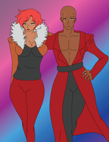 Jean-Luc and Camille by AliciaRFlowright