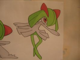 Kirlia Coloured by sazmullium