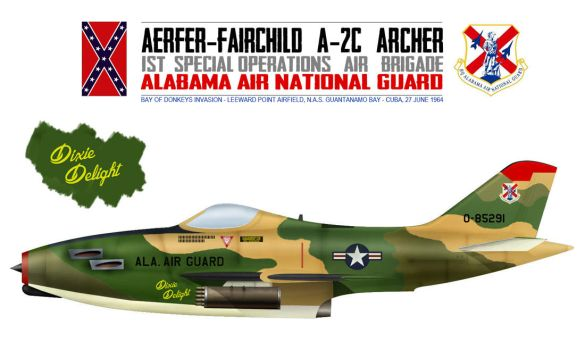 Alabama ANG Aerfer-Fairchild A-2C Archer by db120