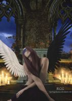 Angel of Fate's Hall by RogerioGuimaraes