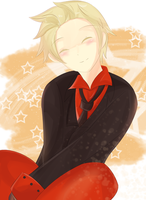 APH Denmark - Just Keep Smiling by MizutheMage