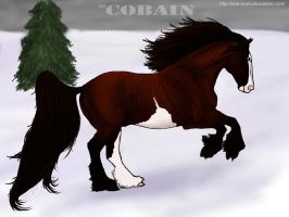 MD Cobain - Snow Mustang by wideturn