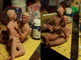 WIP Desktop Cecil and Carlos (WTNV) by Armeleia