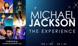 Michael Jackson Icon set by luniara