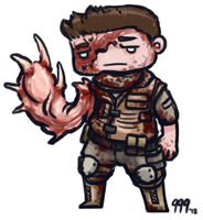 Chibi Piers Nivans RE6 by Baals-Baby