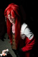 Grell Sutcliff - Sebas-Chan by CosAmour