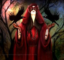 The Morrigan by LibertineM