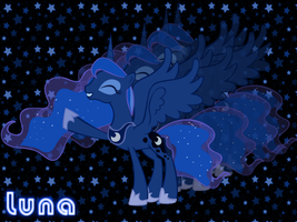 Luna wallpaper by NightSilverChelly