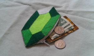 Legend of Zelda Rupee Wallet by Riskyo