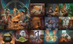 Chaos and Alchemy Illustration Compilation by sensevessel