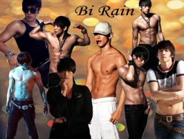 Bi Rain Wallpaper by Irridian