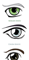 Hakoiden Character Eyes by NarutardST