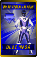 Blue Mask by rangeranime