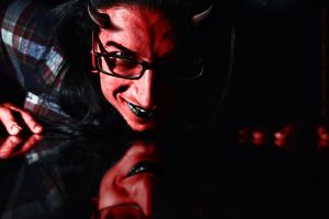 Devil with glasses by MultiMan