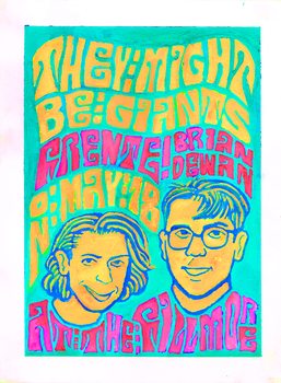 They Might Be Giants Poster by timlai