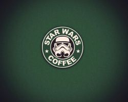 Star Wars Coffee by Zeerooh