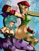 Divas Battle by XJKenny