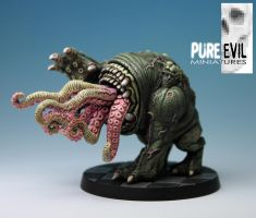 QU-SH-UG by Pure Evil Miniatures.com Painted by PureEvilMiniatures