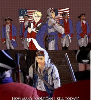 American independence war by ChibiLOL