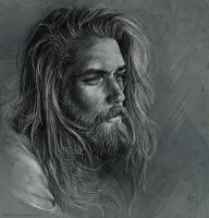 Sketch - Ben Dahlhaus by Duh22