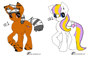 MLP Adoptables! closed by dingo359