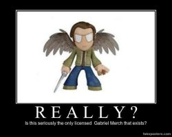 Gabriel needs more than this! by Mickxbeth2012