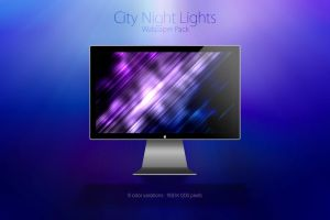 City Night Lights by Mellou