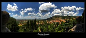 Sunny land by Leitor