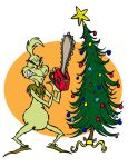 Grinchy Christmas by coyoteloon