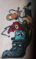 Brave Little Toaster Tattoo by MadForHatters
