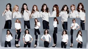 Girl's Generation  RAW Promotion by Lissette8017