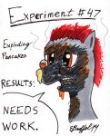 Gear Loose's Exploding Pancakes Experiment by Cartoon-Eric